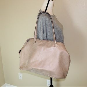 Free People large 3 compartment tote